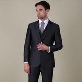 Karl Jackson Grey Stripe Regular Fit 2 Button Jacket