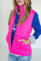 Ampersand Avenue Pink Puffer Vest