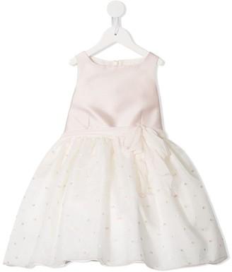 La Stupenderia Dotted Detail Dress