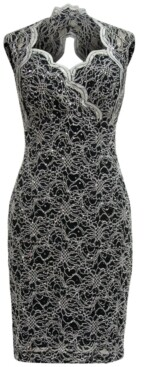 Connected Sweetheart Sheath Dress