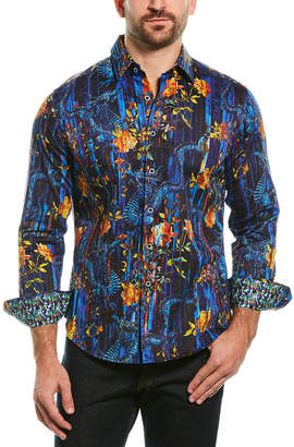 Robert Graham Cought Classic Fit Woven Shirt