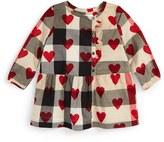 Burberry Infant Girl's 'Mini Alaya' Check & Heart Print Dress