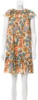Marc Jacobs Printed Mini Dress