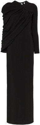 Burberry Draped Gown