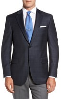 Peter Millar Men's Flynn Classic Fit Plaid Wool Sport Coat