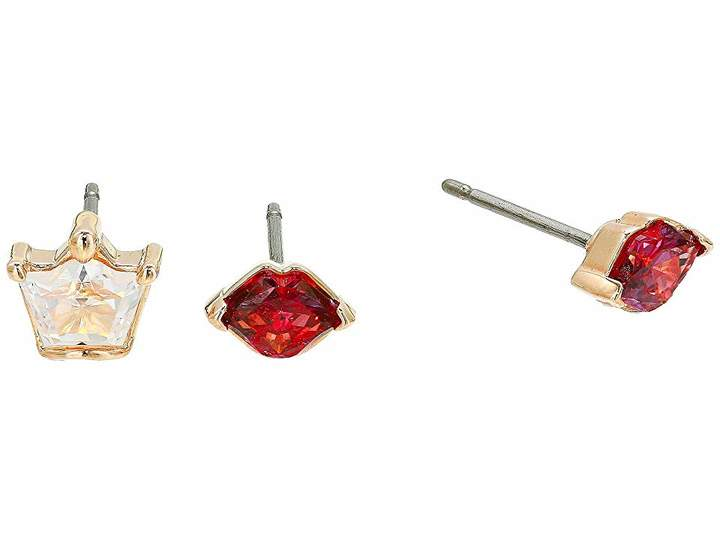 Swarovski Out of This World Kiss Pierced Earrings