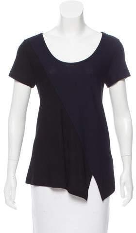 Derek Lam Colorblock Short Sleeve Top w/ Tags