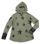 Flowers by Zoe Girl's Star Hoodie