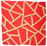Kenneth Jay Lane Silk Printed Scarf