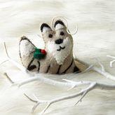 west elm Felt Fox Ornament