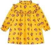 Gucci Baby Rose Bud print silk dress