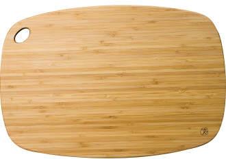 Totally Bamboo Medium Rectangular Chopping Board 34x23x1cm