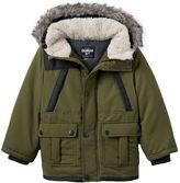 Osh Kosh Boys 4-7 Hooded Faux-Fur Jacket