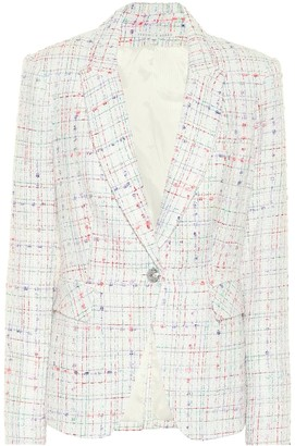 Veronica Beard Cutaway Dickey tweed blazer