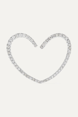 Yvonne Léon 18-karat White Gold Diamond Earring