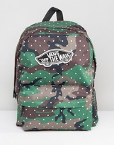Vans Camo Print Backpack