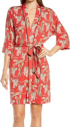 KILO BRAVA Cheetah Short Robe