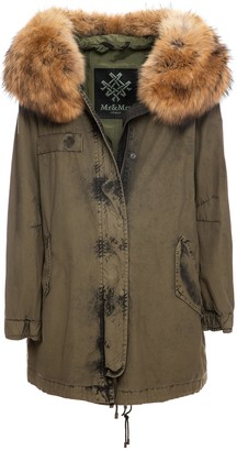 Mr & Mrs Italy Parka A-line With Fur