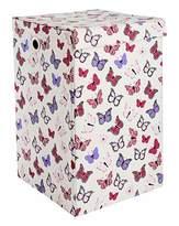 Fashion World Butterflies Foldable Laundry Basket