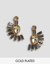 Johnny Loves Rosie Fan Drop Earrings