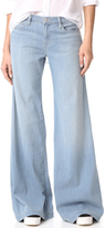 J Brand Lynette Low Rise Super Wide Leg Jeans