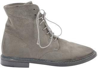 Marsèll Grey Leather Boots