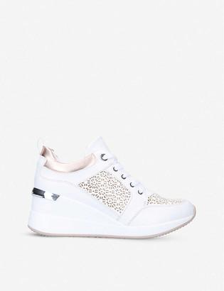 Aldo Coluber wedge-heel trainers