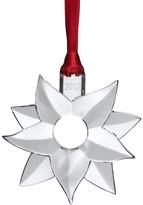 Kosta Boda Orrefors Poinsettia Ornament