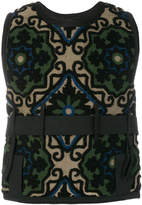 Craig Green strap-detailed vest