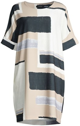 Natori Art Modernat T-Shirt Dress