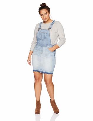 Dollhouse Women's Size Antigua Jr Plus Denim 16