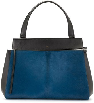 Céline Pre Owned Pre-Owned Textured Trapeze Tote Bag