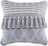 """Croscill Seren Chenille Damask Jacquard 16"""" Square Decorative Pillow Bedding"""
