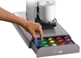 Mind Reader 50 Capacity Nespresso Capsule Drawer - Silver/Gray