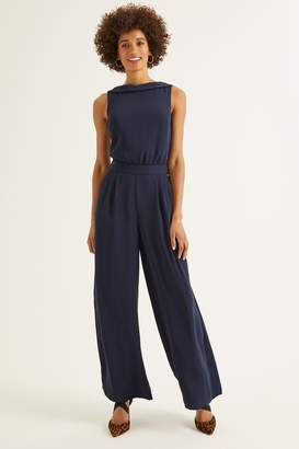Boden Womens Blue Clarissa Jumpsuit - Blue