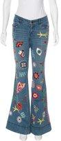 Alice + Olivia Ryley Mid-Rise Jeans