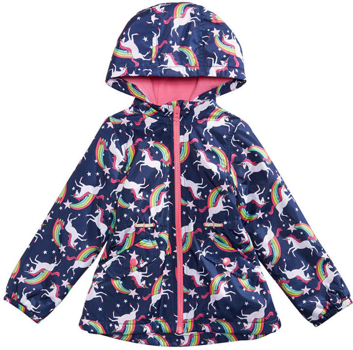 2570e44ba Carter Toddler Girls Unicorns & Rainbows Hooded Jacket