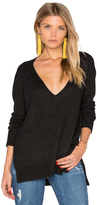 Enza Costa Loose V Neck Sweater