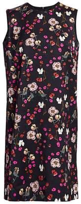 Escada Diarra Sleeveless Floral Mini Dress