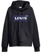 Levi's & Co - Levis Graphic Sport Hoodie Black Leopard - Leopard Black / S
