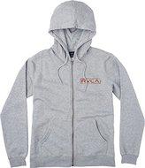 RVCA Men's Label Hoodie