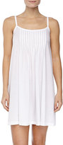 Hanro Juliet Pleated Babydoll Gown, White