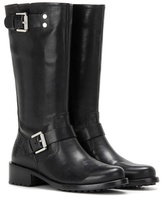 Calvin Klein Jeans Mytheresa.com Exclusive Embellished Leather Biker Boots