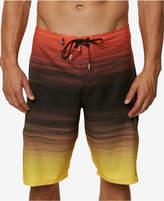 """O'Neill Men's Stretch Ombre Stripe 21"""" Board Shorts"""