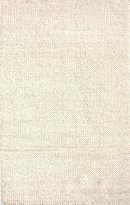 nuLoom Off White Hand Woven Chunky Woolen Cable Rug Oval, 5' x 8'