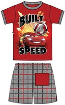 Disney Pixar Cars Lightning McQueen Built for Speed T-Shirt & Shorts Toddler Set
