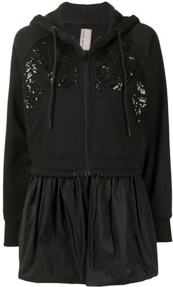 Antonio Marras Floral Sequin Cropped Jacket