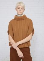 Jil Sander Sleeveless Knit Turtleneck