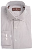 Robert Talbott Men's Estate Tailored Fit Stripe Dress Shirt