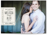 Minted Book Plate Save the Date Postcards